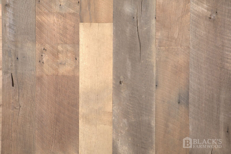 antique oak threshing floor reclaimed wood flooring close up