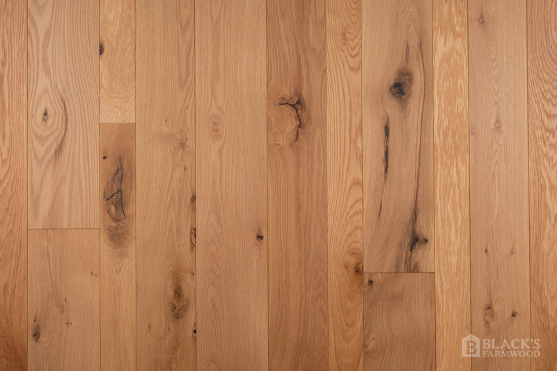 european cut white oak wood flooring close up
