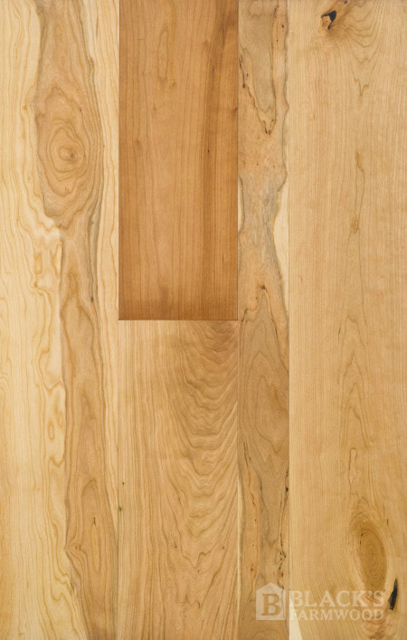 cherry wood flooring close up